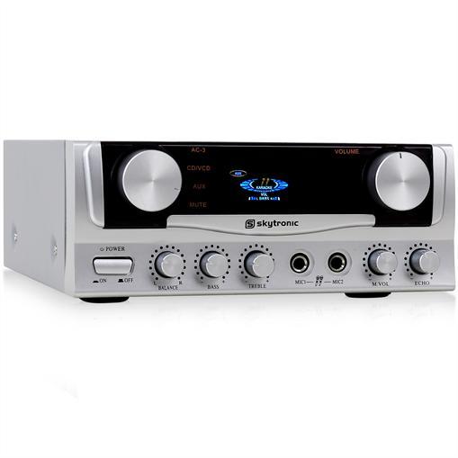 HiFi-förstärkare Skytronic PA-amplifier karaoke 400W