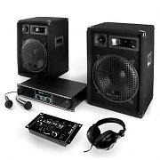 "PA Conjunto ""Basstigall"" Amplificadores Alfitalantes Microfone 1200W"