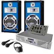 Equipo DJ ''Durch-Starter'' amplificador altavoces mezclador