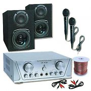 HIFI SET HVA 200 + 130 + MC 2 mikrofoner - Karaoke 1