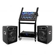 DJ PA Set Rack Star Neptun Palace 250 personer