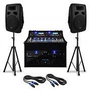 "DJ- PA-setti ""Urban Trip-Hop Beats"" 250 henkilöä 1000W USB"