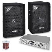 'DJ Rookie' Set Par de Altavoces Amplificador 800W PA