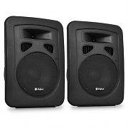 DJ PA par högtalare Skytec 20cm passiv-box 2 x 300W