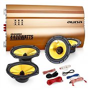 "Auna 4.0 Car Hifi Set ""Golden Race V5"""