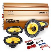 "Auna 4.0 Car Hifi Set ""Golden Race V7"""
