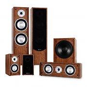 auna Linie-300-WN 5.1 Heimkino Soundsystem 515W RMS walnuss