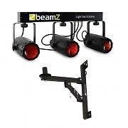 Beamz 3 Some Juego de focos LED 5 pz. Soporte de pared