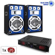 "PA Set Serie Blue Star ""Basscore Bluetooth"" 1000W"