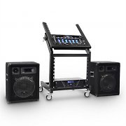 DJ PA Set Rack Star Series Mercury Beat 250 personer