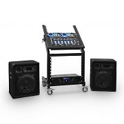 DJ PA SEt Rack Star Uranus Blues Bluetooth 250 personer