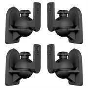 LUA SB-28 Lautsprecherhalter 4er-Set schwarz <3,5kg Heimkino HiFi