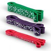 Capital Sports Resistor set pullupband pullup support 3 stycken styrkegrad 2, 5,