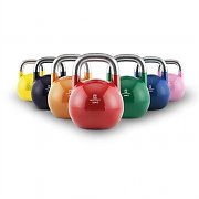 Capital Sports Compket set Competition kettlebell 7x tävlings-kulhantlar stål