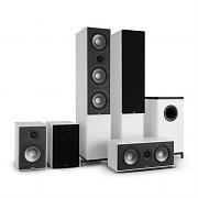 NUMAN Reference 851 5.1 äänijärjestelmä valkoinen sis. suojuksen musta
