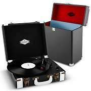 auna Jerry Lee Record Collector Set black | Retro Platenspeler | Platenkoffer