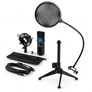auna MIC-900B-LED USB microfoonset V2 | condensatormicrofoon | plopbescherming | tafelstatief