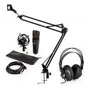 auna MIC-920B USB set de micrófonos V3 auriculares de estudio, micrófono de condensador  +  brazo de micrófono