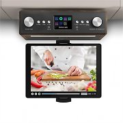 """auna Connect Soundchef radio de cocina con soporte para tableta DAB+ FM 2 x 3"""" - altavoces nogal"""