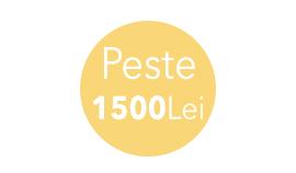 Peste 1500 Lei