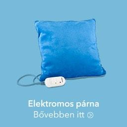 Elektromos takaró és párna