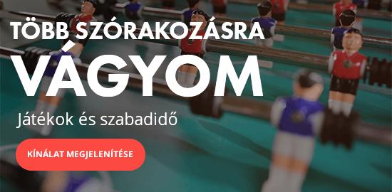 JÁTÉKOK, SZÓRAKOZÁS ÉS SZABADIDŐ